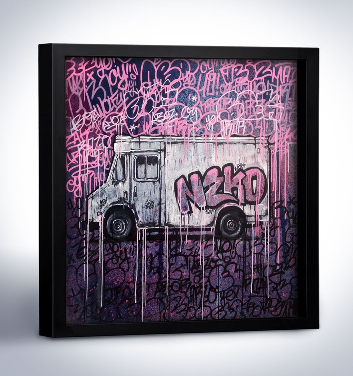 GRAFFITI JUICE - Urban Painting by GRAFFMATT - Image 0