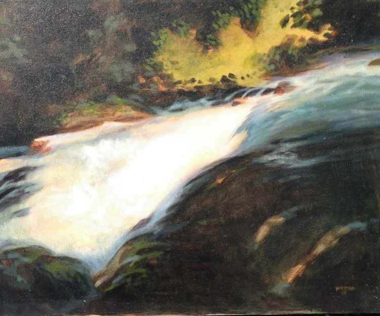 Falls Along the River -