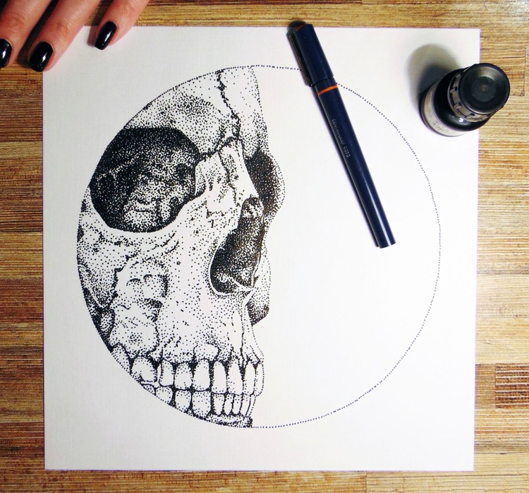 skull - Image 0