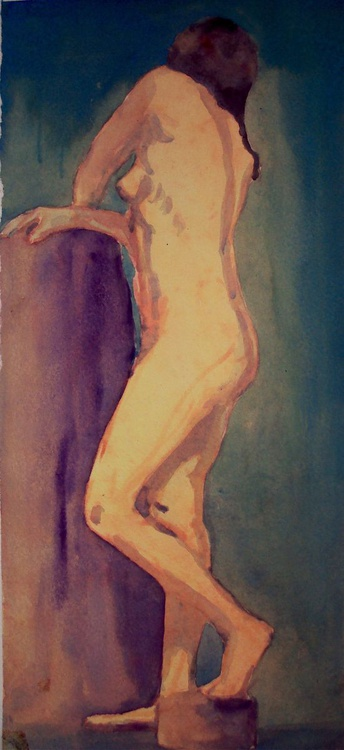 Standing Nude 1 - Image 0