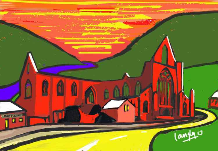 Tintern in Red -