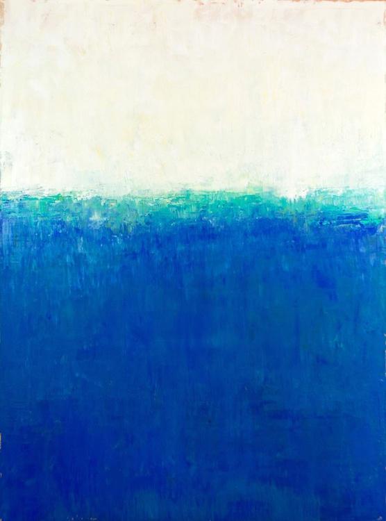 Blue Aqua 54x40 inches - Image 0
