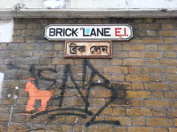 Brick Lane (48cm X 35.7cm) -
