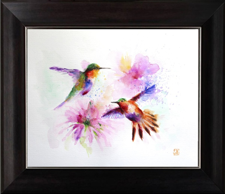 Flying birds, Hummingbird - Image 0