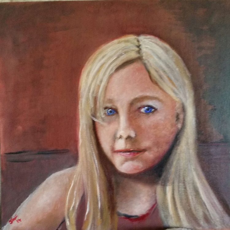 Little miss blue eyes - Image 0