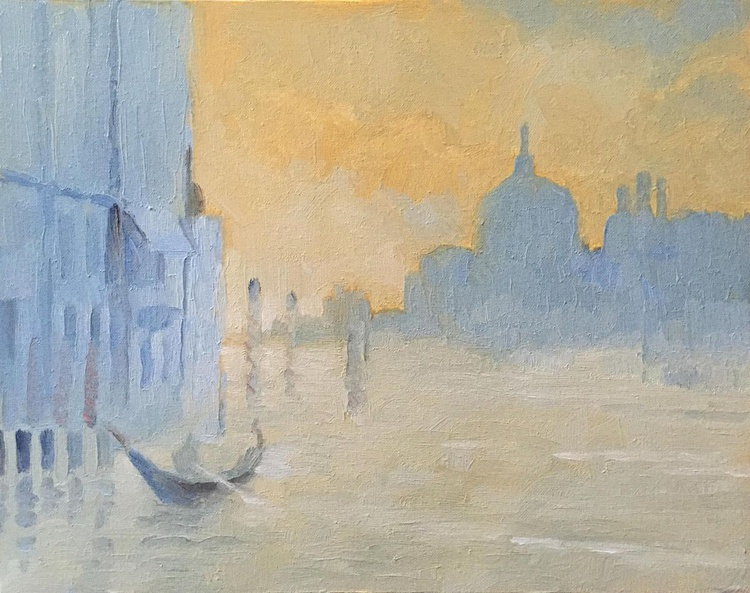 Grand Canal Venice Early Morning - Image 0