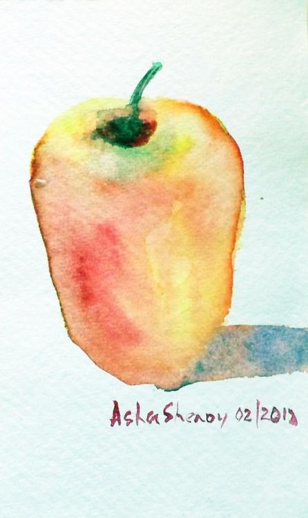 """Cashew fruit sans the nut 1- 5""""x3"""" - Image 0"""
