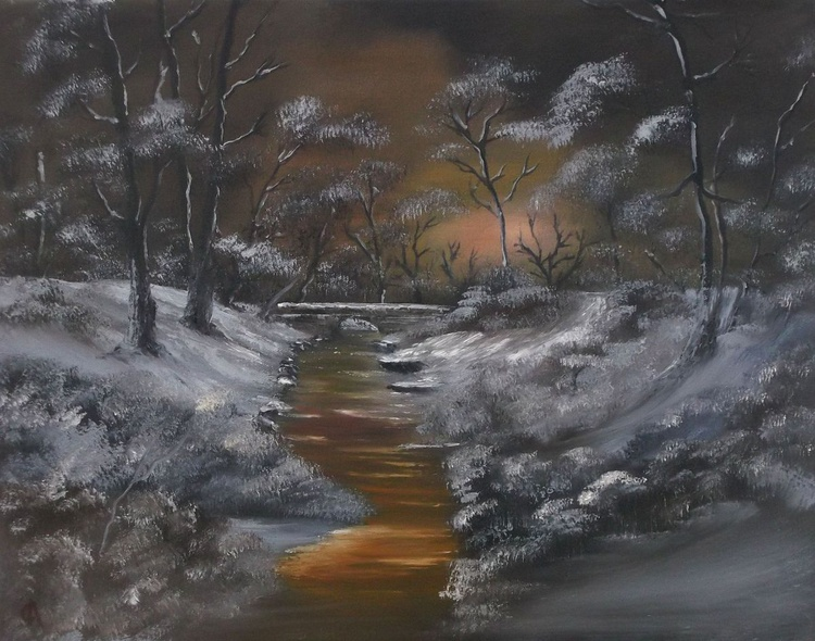 Winters Glow.Sold - Image 0