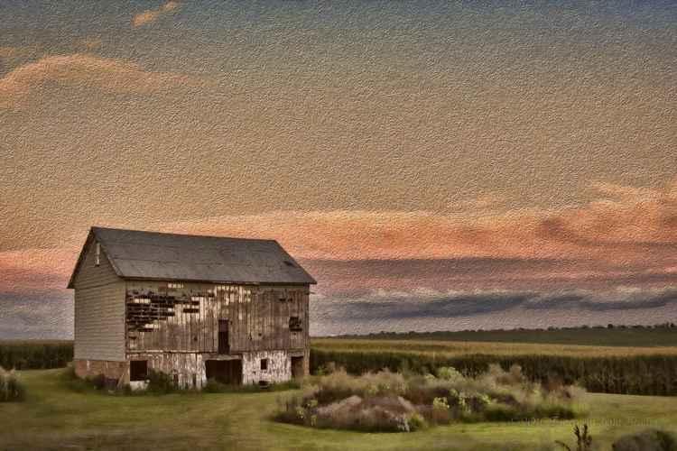 By a Prairie Field -