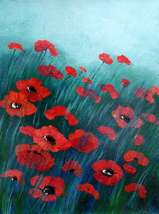 Evening Poppies - Image 0