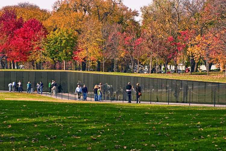 Vietnam Memorial Wall -