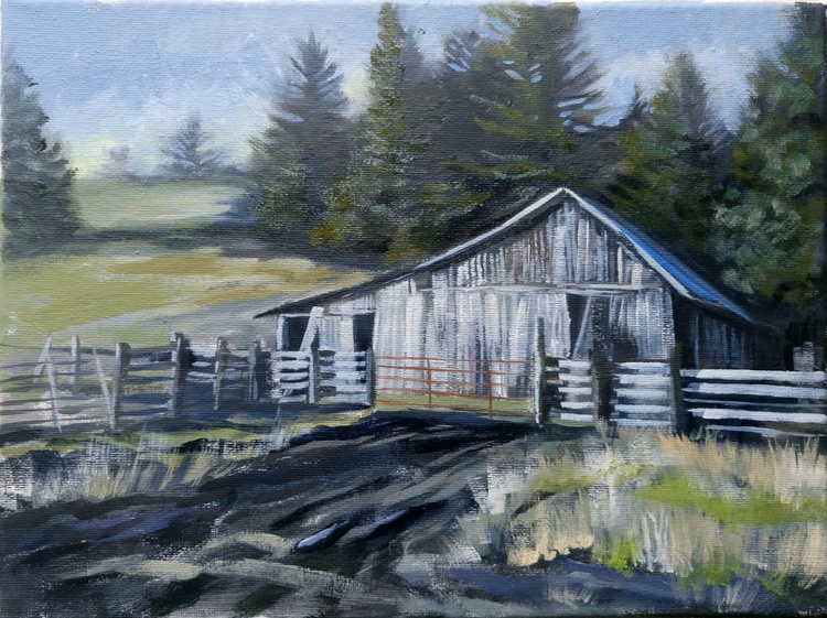 White barn - Image 0