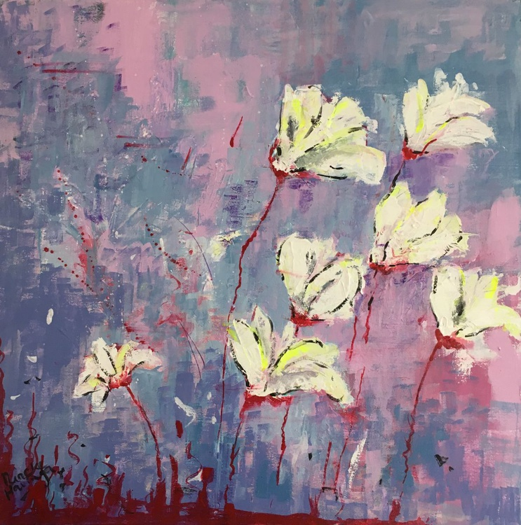 White flowers - Image 0