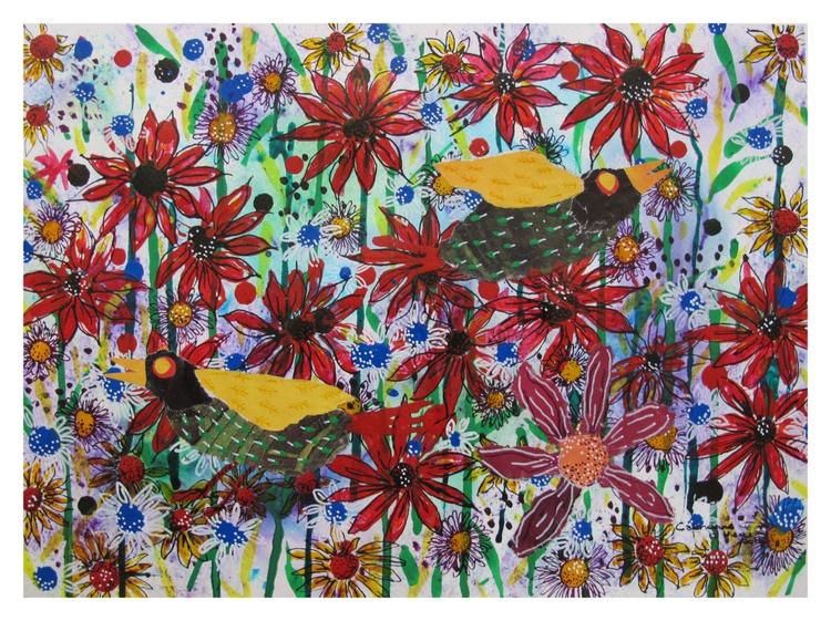 The singing birds - Image 0