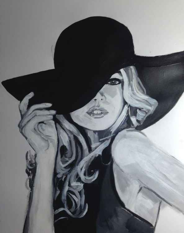 Lady in Hat -