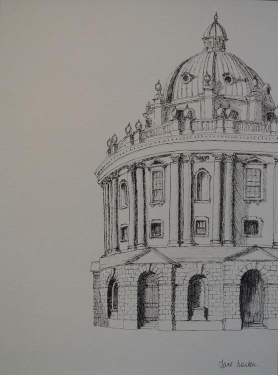 Radcliffe Camera, Oxford - An Original Ink Drawing - Image 0