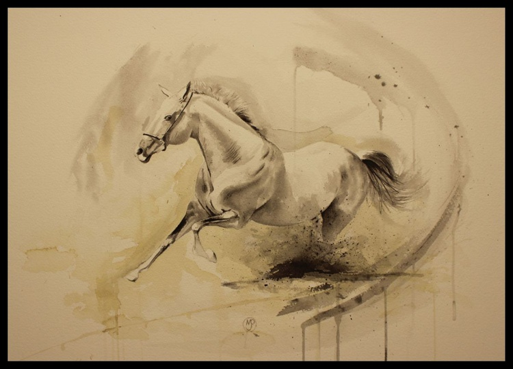 Movement of a Horse Study 1.2 - Image 0