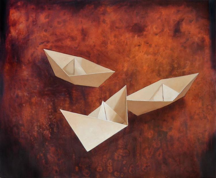 Three boats - Image 0