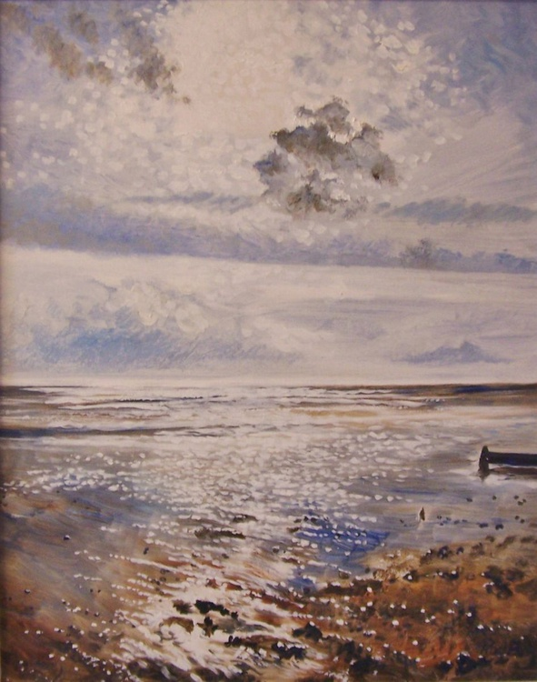 Winter sunlight  across the Kent coast - Image 0