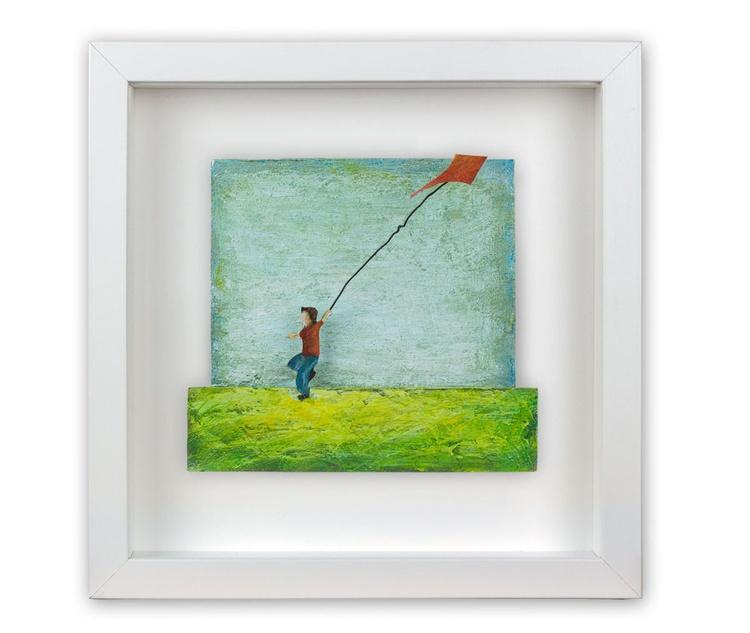 Boy with kite - Image 0