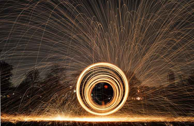 Steel Wool Photography -