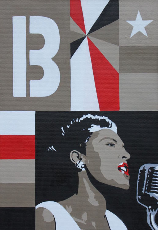 Lady Day, a portrait of Billie Holiday - Image 0