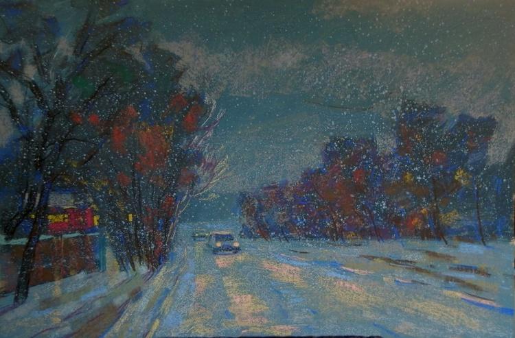 winter evening - Image 0
