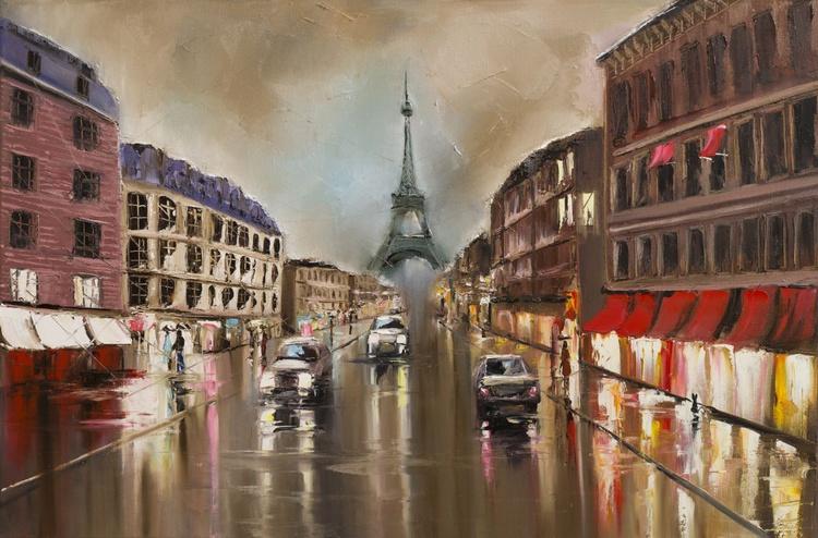 Quiet rainy street - Image 0