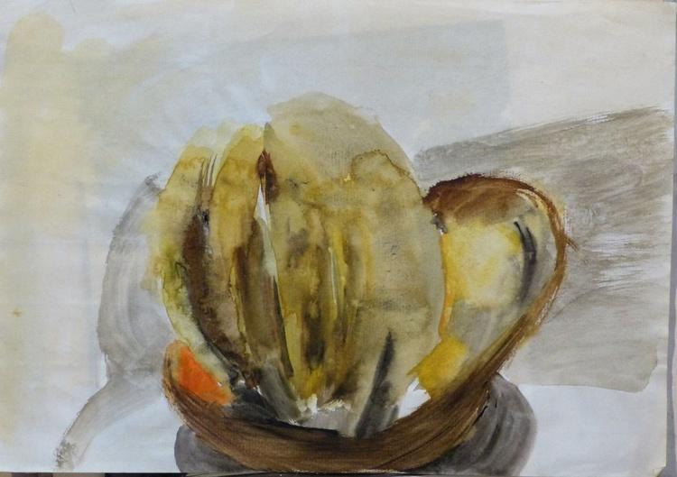 Still Life with Bananas, 21x29 cm - Image 0