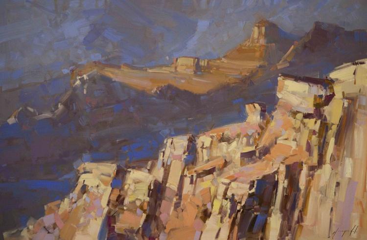 Grand Canyon Arizona Original large painting on canvas - Image 0