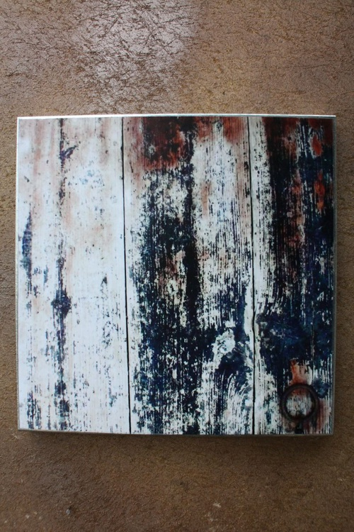 Disappearing Memory Series - Old Wall - Printed Steel Wall Decor - NO 10 - Image 0