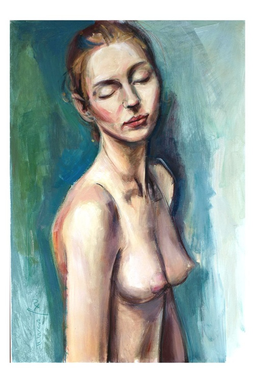 In your eyes (nude woman study) - Image 0