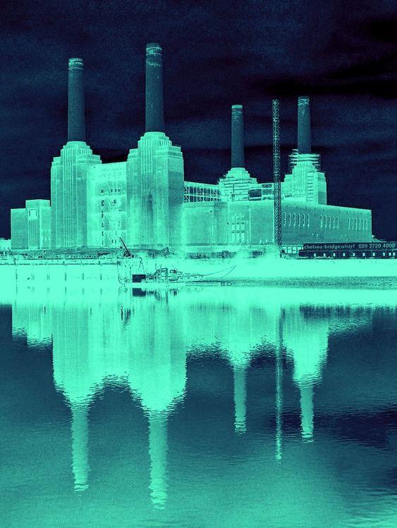 """BATTERSEA THAMES Limited edition  2/10 30""""x40"""" - Image 0"""