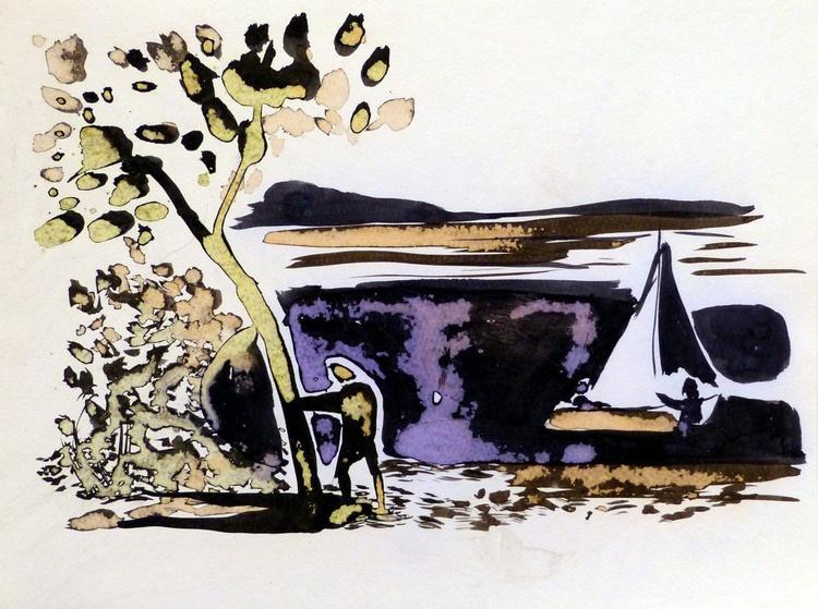 Landscape #3, 24x30 cm - Image 0