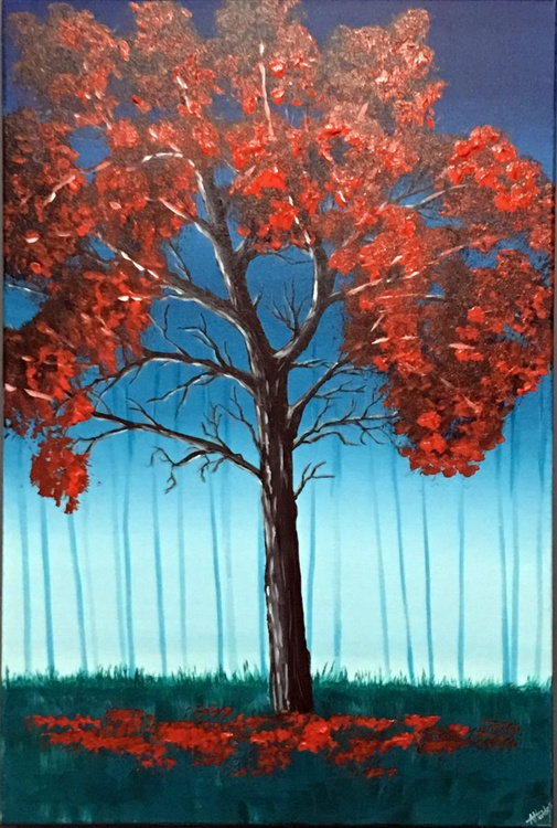 One Red Tree - Image 0