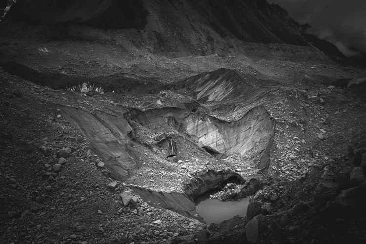 Glacial Crevice -