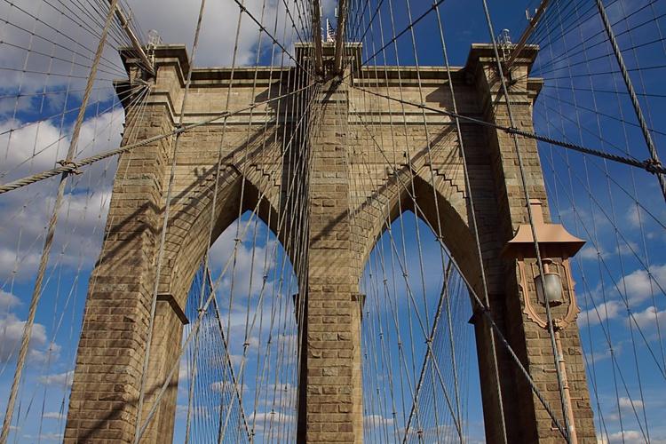 Brooklyn Bridge - colour - Image 0
