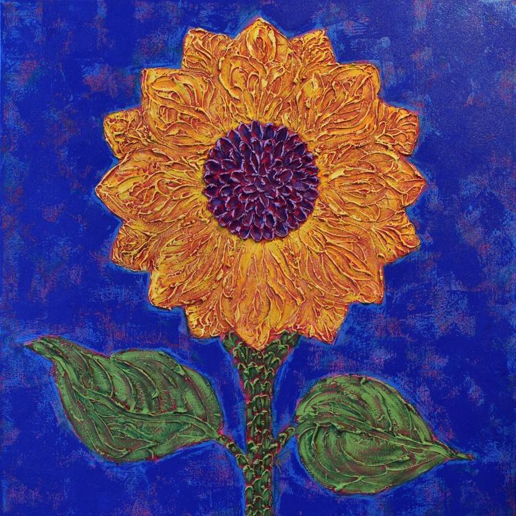 Impasto Sunflower - Image 0