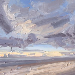 A Winters Cloud Study by Chris Mcloughlin