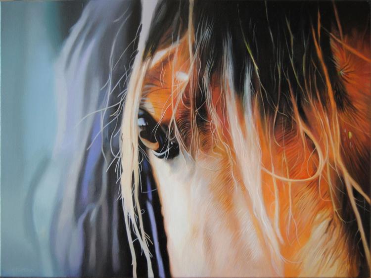 Horse painting, Animal painting, Horse portrait - Image 0