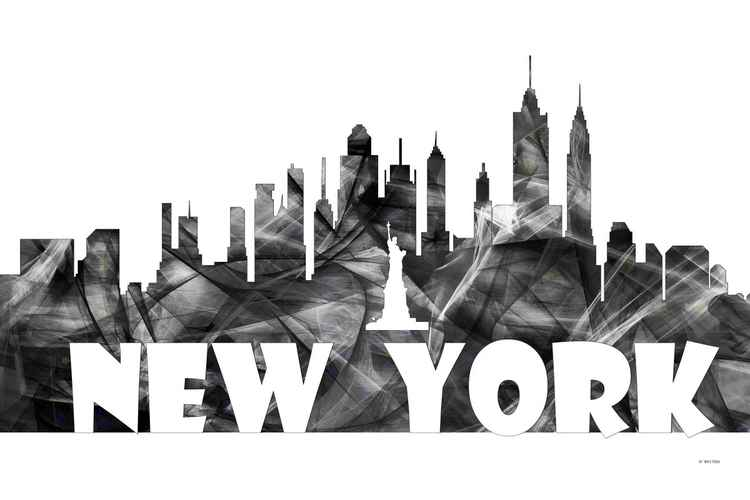 New York City Skyline BG2 -