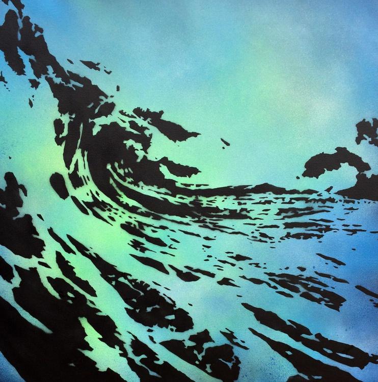Light blue wave - Image 0