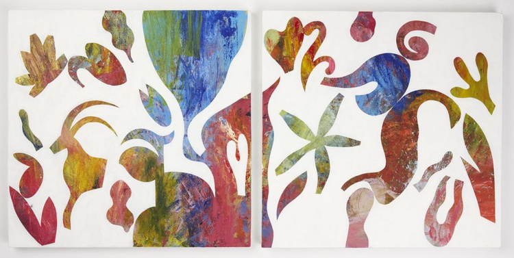 Lifetime 4a & 4b - Diptych - Image 0
