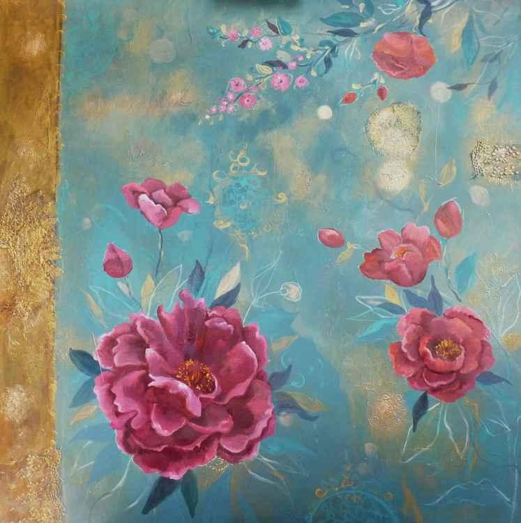 Aube fleurie -