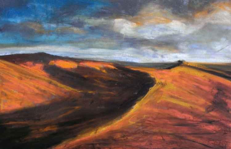 Black Mountains Pastel No.2