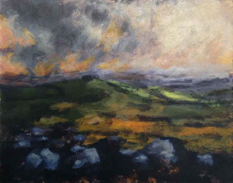 Dartmoor - Late afternoon No 2 -