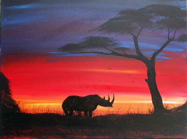Rino Sunset -