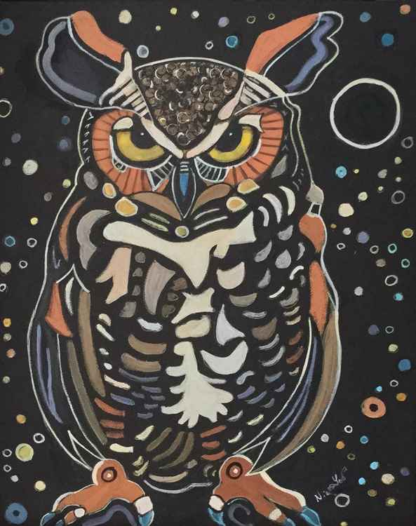 Great Horned Owl Totem  - Native Spirit Collection 2016
