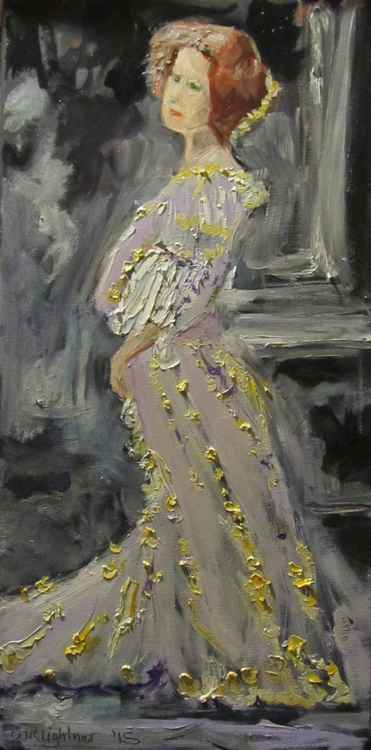 Lady in Lilac -