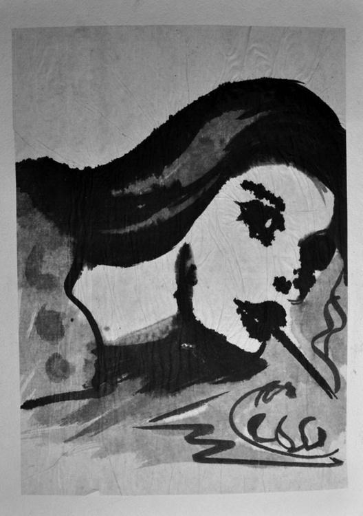 Girl Smoking - Image 0